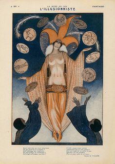 hoodoothatvoodoo:    Fantasio 1924  Armand Vallee