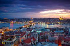 Kartpostallık İstanbul manzarası