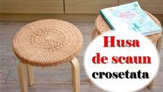 Crosetarea este un hobby pentru mine. Specialistii in design interior sustin ca obiectele crosetate pot fi folosite in DECOR.  Gasiti pe canalul meu de #youtube un nou tutorial cum sa crosetezi o husa pentru scaun.
