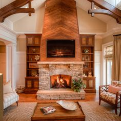 Fireplace Design Ideas, Pictures, Remodel, and Decor - page 12