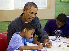Obama Honors King by Helping Next Generation