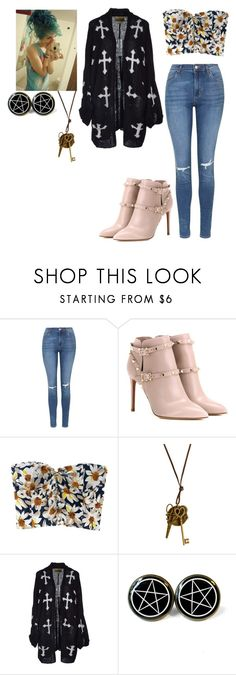 """""""I just cant even #12"""" by madeinchina03 ❤ liked on Polyvore featuring Topshop, Valentino and Wildfox"""