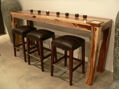 i think this would work in my kitchen just need a diy version - Kitchen Bar Table