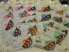 Wrapping メッセージカード レザーリーフ&フランス切手ハンドメイド インテリア 雑貨 Handmade ¥500yen 〆05月25日