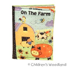 Hey, I found this really awesome Etsy listing at https://www.etsy.com/listing/157328111/soft-cloth-book-on-the-farm-learn-animal