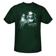 Swamp People Glenn and Mitchell Guist T-Shirt- Hunter Green