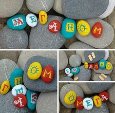 Painted Stones <3