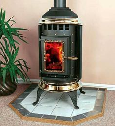 Pot Bellied Stove Wood Hearth Fireplace Ideas Pellet Stoves