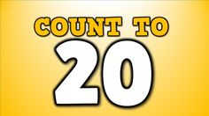 Count to 20! (counting song for kids)