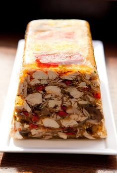 Charcuterie Tasting at Épicerie Boulud Pate En Croute Recipe, Hog Head Cheese Recipe, Bacon, Charcuterie Platter, French Food, Cheese Recipes, Meat Loaf, Yummy Food, French Recipes