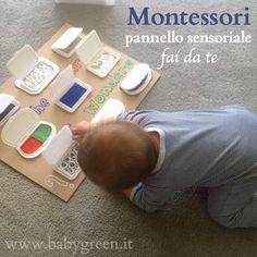 Montessori: pannello sensoriale fai da te