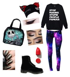 """what I am wishing I was wearing"" by alice-just-found-wonderland on Polyvore featuring Dr. Martens and NARS Cosmetics"