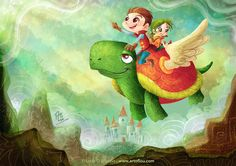 Life Is A Fairy Tale! by LouisDavilla.deviantart.com on @DeviantArt