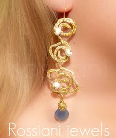 Fortune earrings - Fortune line - Rossiani Jewels - Italian handmade jewels - Made in Italy