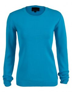 Cynthia Rowley Blue Crew Sweater $225