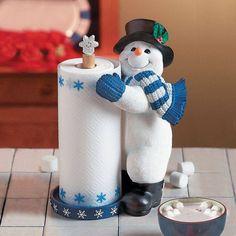 Snowman Towel Holder Christmas Holiday Home Decor Winter Fun, Winter Christmas, Christmas Crafts, Christmas Decorations, Yard Decorations, Christmas Paper, Winter Snow, Christmas Time, Merry Christmas