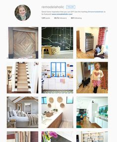 Great home decor inspiration daily!  Follow @remodelaholic on instagram!