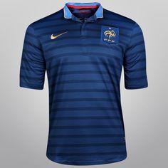 Acabei de visitar o produto Camisa Nike Seleção França Home 2012 s/nº