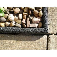 Vigoro Ecoborder 4 Ft Black Rubber Landscape Edging 6 400 x 300