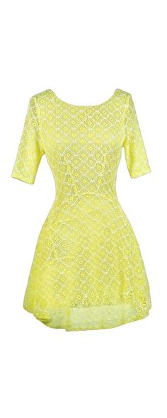 Lily Boutique Brighten Up Lace Dress in Neon Yellow, $40 Yellow Lace Dress, Yellow Lace A-Line Dress, Neon Yellow Dress, Neon Lace Dress, Yellow Summer Dress, Yellow Party Dress, Yellow Lace Party Dress, Yellow Skater Dress, Cute Summer Dress, Cute Yellow Dress, Yellow Party Dress www.lilyboutique.com