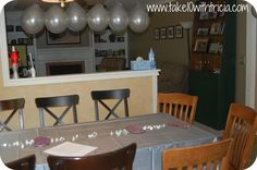 50 Shades of Grey Inspired Party Decor