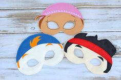 Jake neverland pirate mask by MyWonderlandBoutique on Etsy