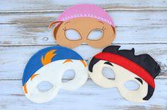 Jake neverland pirate mask by MyWonderlandBoutique on Etsy