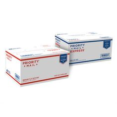 Dual-Use Priority Mail/Express Box - 1 | USPS.com Shipping Information, Shipping Packaging, Usps Shipping, Free Shipping, Packaging Supplies, Free Boxes, Shipping Supplies, Marketing, Last Minute Gifts