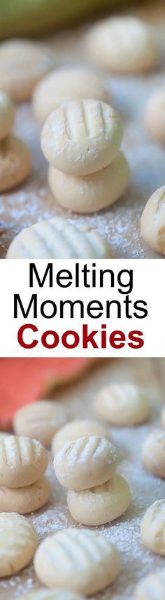 Melting Moments Cookies - the most crumbly, buttery, and delicious cookies ever, the only recipe you'll need | rasamalaysia.com