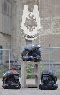 Halo 3 ODST  Wearable Custom Helmet by iacorrao on Etsy, $350.00