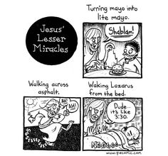 Small miracles, nonetheless notewhorty, one should know about when going to church...