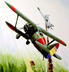 Polikarpov I-15 Chato in the SCW