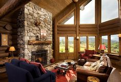 Idaho Handcrafted Great Room