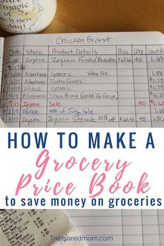to Make a Grocery Price Book to Save Money on Groceries. Get the details for How to Make a Grocery Price Book here. It's a great template to save money on groceries. Get the Free Printable Price Book.No Money No Money may refer to: Save Money On Groceries, Ways To Save Money, Money Saving Tips, Groceries Budget, Money Tips, Money Budget, Earn Money, Planning Menu, Planning Budget
