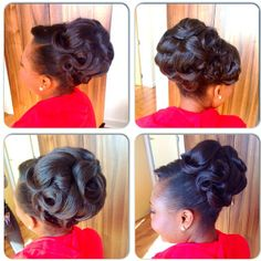 African American. Black Bride. Wedding Hair. Natural Hairstyles. charishair @charishair | Websta