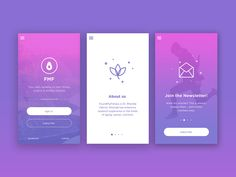 WIP Health and Fitness app by Medina Krluch