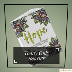 Today Only! 20% OFF this item.  Follow us on Pinterest to be the first to see our exciting Daily Deals. Today's Product: Hope: An Inspirational Coloring Book and Bible Study for Adults eBook Buy now: https://www.etsy.com/listing/477963433?utm_source=Pinterest&utm_medium=Orangetwig_Marketing&utm_campaign=November%20Sale   #etsy #etsyseller #etsyshop #etsylove #etsyfinds #etsygifts #musthave #loveit #instacool #shop #shopping #onlineshopping #instashop #instagood #instafollow #photooftheday…