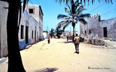 Brava è una delle piú antiche città della Somalia, fitta di  minareti e cupole di moschee, ancora piú bianca e luminosa  di Mogadiscio. Gli italiani non l'hanno riempita di palazzi  e viali alberati, cosí il suo aspetto è rimasto autentico, come  nei vecchi quartieri della capitale, però piú curato e altezzoso.  Gli abitanti parlano un dialetto simile allo swahili e sono  considerati gente raffinata, per via delle loro tradizioni e  della pelle molto chiara.