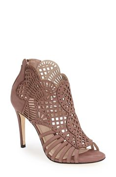 Love the detail on this cutout bootie.