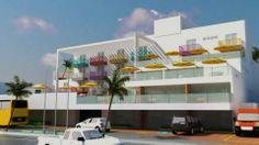 FACHADA HOTEL/HOSTEL NATAL RN TCC.