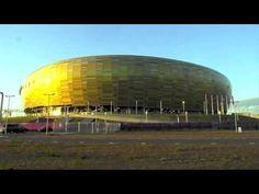 Stadion Euro2012 w Gdańsku dzień przed rozpoczęciem mistrzostw