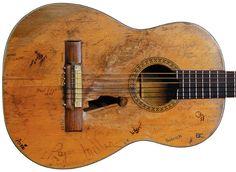 Willie Nelson's Martin guitar