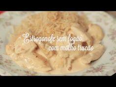Estrogonofe sem fogão com molho trucão | Cozinha para 2 - YouTube