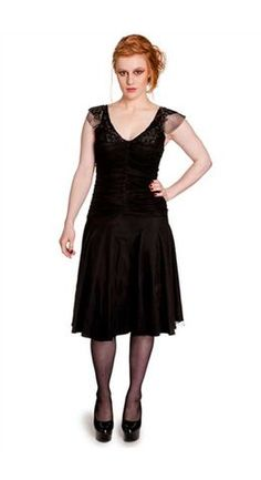 Hell Bunny Gothic Patricia Dress