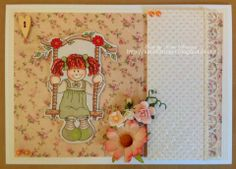 Girl Swinging, Main Page, Amp, Sweet, Cards, Design, Products, Playing Cards