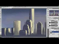 WTC1 Freedom Tower speed painting