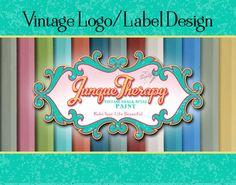 Vintage Label Logo Design  Business Sign Logo by SigntificDesigns