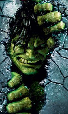 #Hulk #Fan #Art. (Incredible Hulk Wallpaper for HTC Incredible HD – Hellaphone) By?¿ [THANK U 4 PINNING!!]