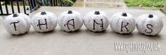 Make Mod Podged Book Page Pumpkins ~ Creative Green Living