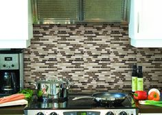 You WILL NOT BELIEVE How Easy This Backsplash Was To Install! - http://www.wisediy.com/you-will-not-believe-how-easy-this-backsplash-was-to-install/